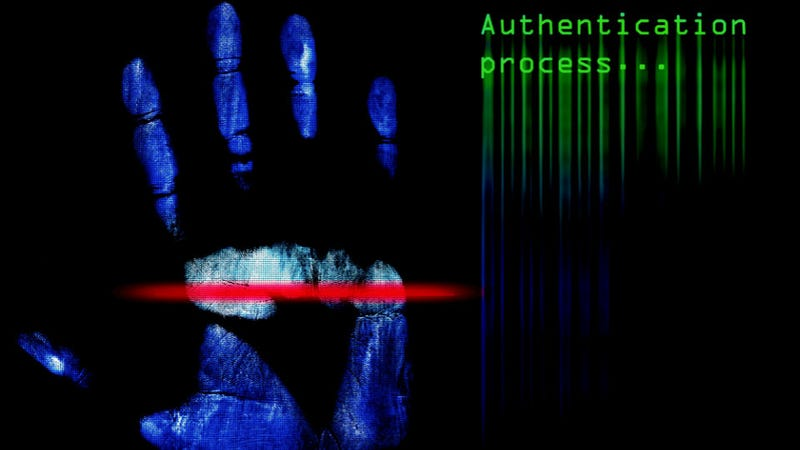 Illustration for article titled Biometric ATM Reads Palms, Not Debit Cards