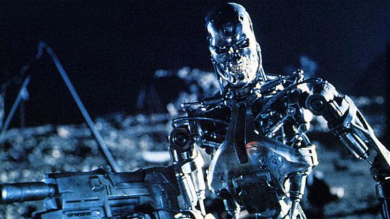 Illustration for article titled Scientists inspired by Terminator take first steps toward being killed by Terminators