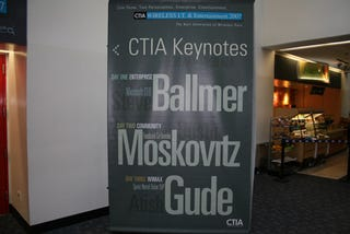 Illustration for article titled CTIA: We're Here!