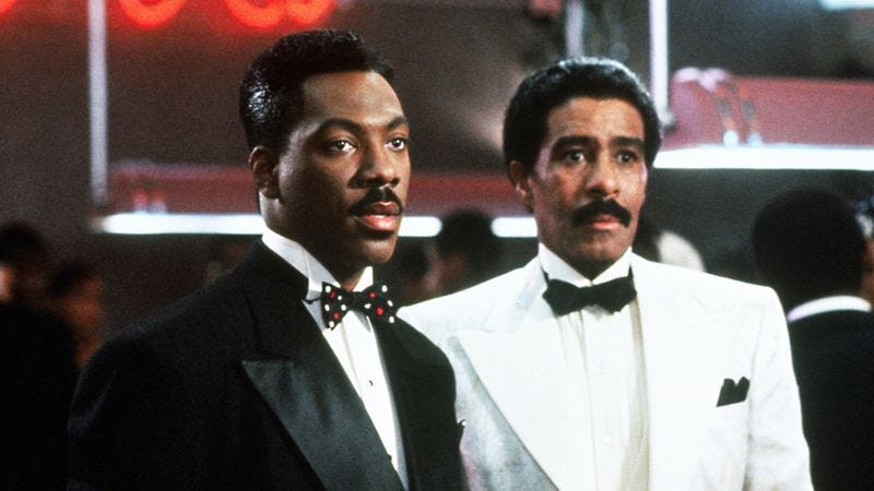 Eddie Murphy and Richard Pryor in Harlem Nights (1989)