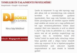 Illustration for article titled Elszabadultak az indulatok a DJBörze oldalán
