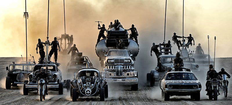 Illustration for article titled How The Man Behind The Machines Of Mad Max Put A Hellscape On Wheels