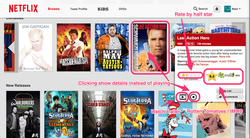 Illustration for article titled Flix Plus Adds Custom Shortcuts, Poster Hiding, and More to Netflix