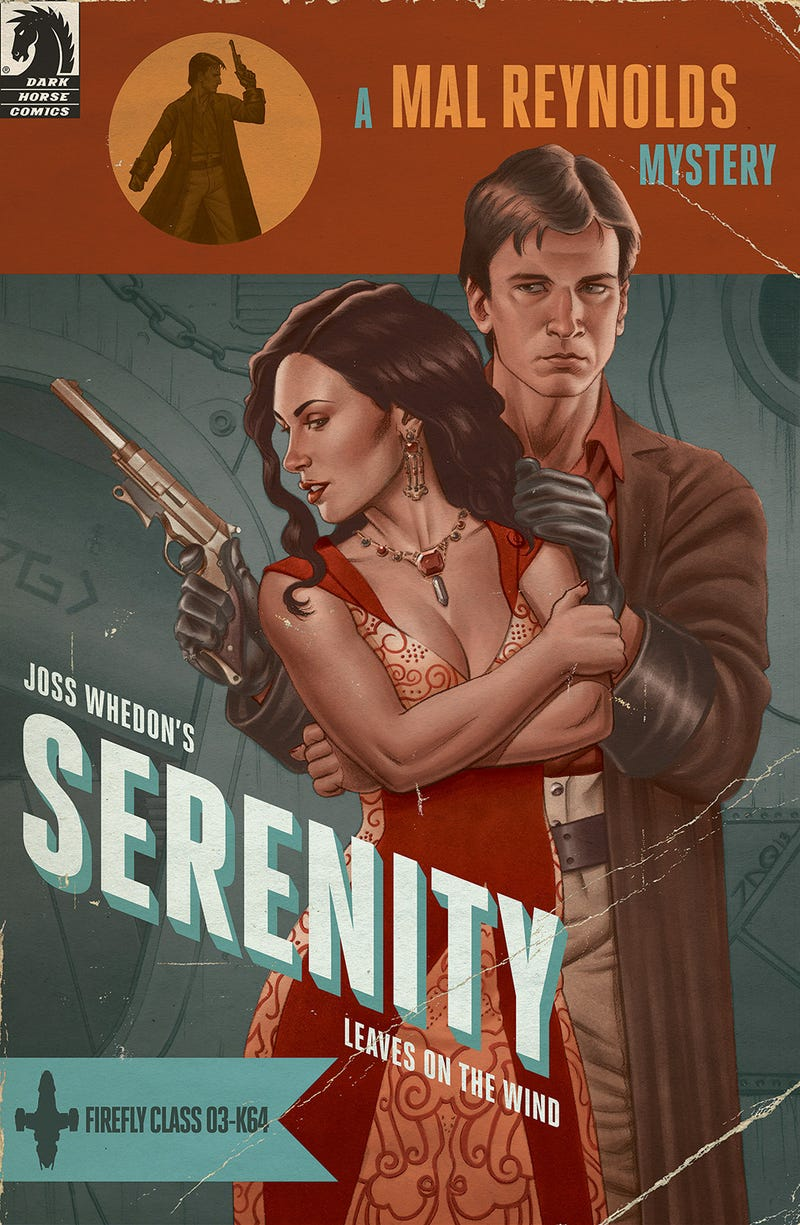 Illustration for article titled Exclusive Firefly Variant Cover Is Shiny