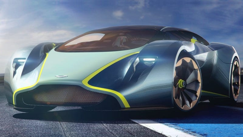 Pictured: the old Aston Martin DP-100 Vision Grand Turismo Concept
