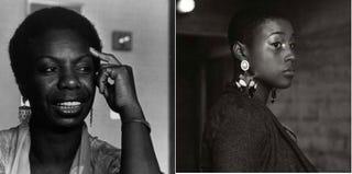 Nina Simone (Monty Fresco/Hulton Archive/Getty Images); Issa Rae (Tumblr)
