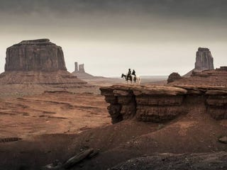 Illustration for article titled The Lone Ranger - Promo Photos