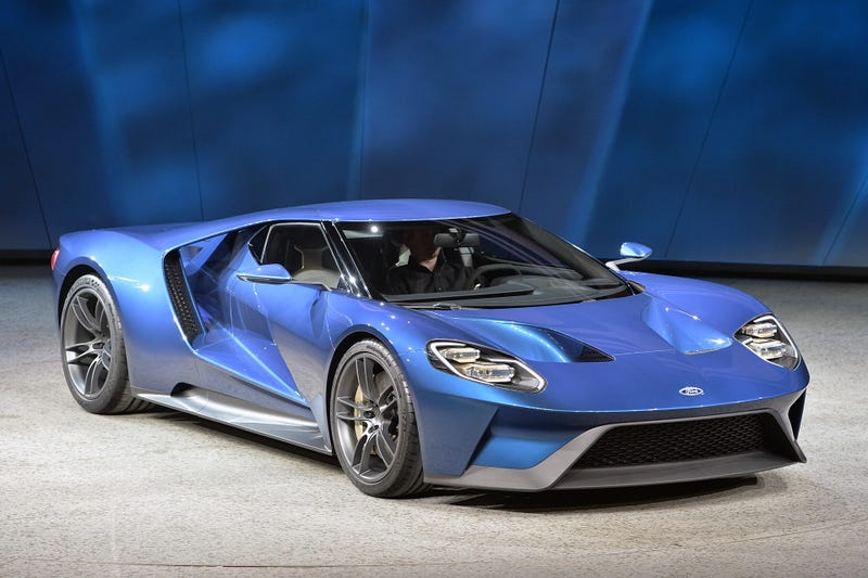 A personal story about the new Ford GT