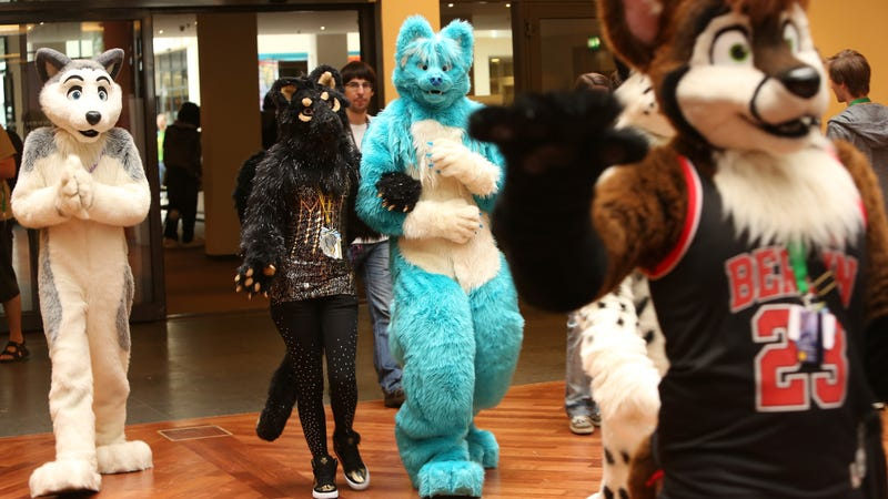 Furry enthusiasts attend the Eurofurence 2014 conference on Aug. 22, 2014, in Berlin. (Adam Berry/Getty Images)
