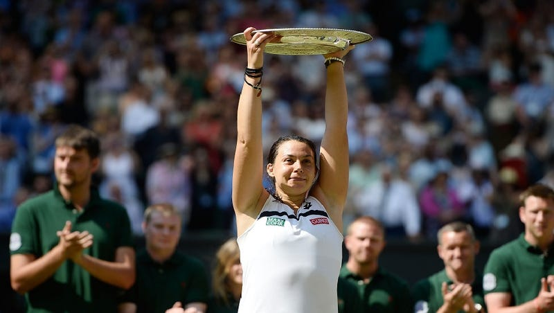 Illustration for article titled Marion Bartoli Wins Wimbledon Women's Championship