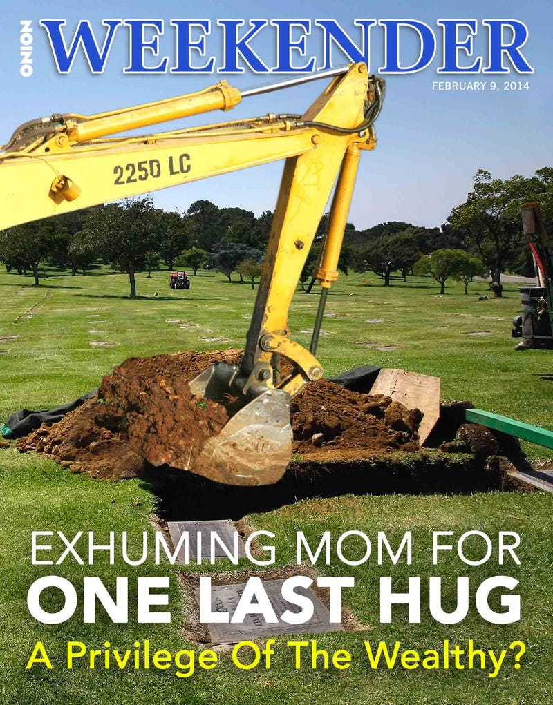 Illustration for article titled Exhuming Mom For One Last Hug: A Privilege Of The Wealthy?