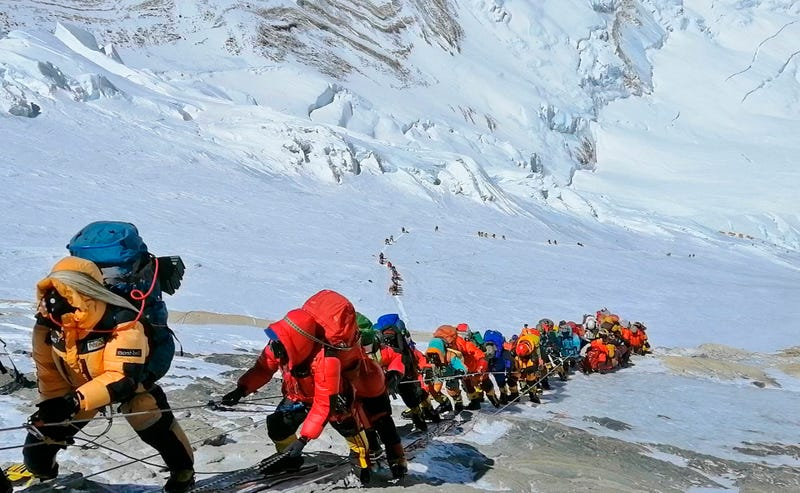 Illustration for article titled Climbers Who Lied About Climbing Mt. Everest Say They Made It From Summit To Base Camp In Two Hours