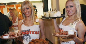 Illustration for article titled The Terrorists Have Won: Hooters Invades The UK