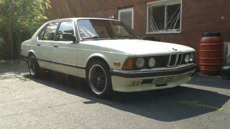 A 1984 BMW 745i Turbo For 2800