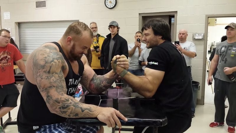 world's strongest man steroids allowed