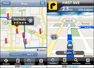 Illustration for article titled AT&T Wants You to Pay $10 a Month for Their iPhone GPS Navigator