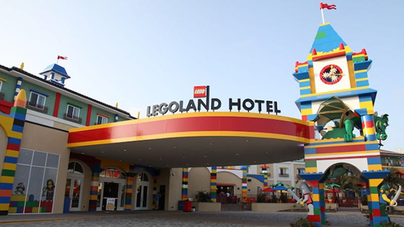 Illustration for article titled Inside the All-New Legoland Hotel