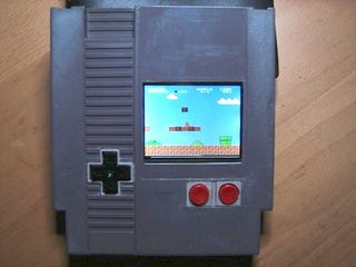 Illustration for article titled NES Cartridge Modded into NES System With Screen, Space-Time at Risk Again