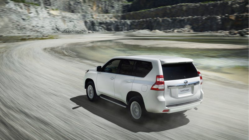 Illustration for article titled Toyota Announces New 2014 Land Cruiser