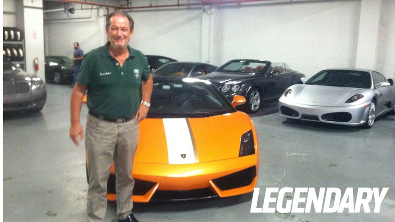 I Got A Note The Other Day That Valentino Balboni Would Be In Town This  Week For An Annual Lamborghini Rally With Gotham Dream Cars.