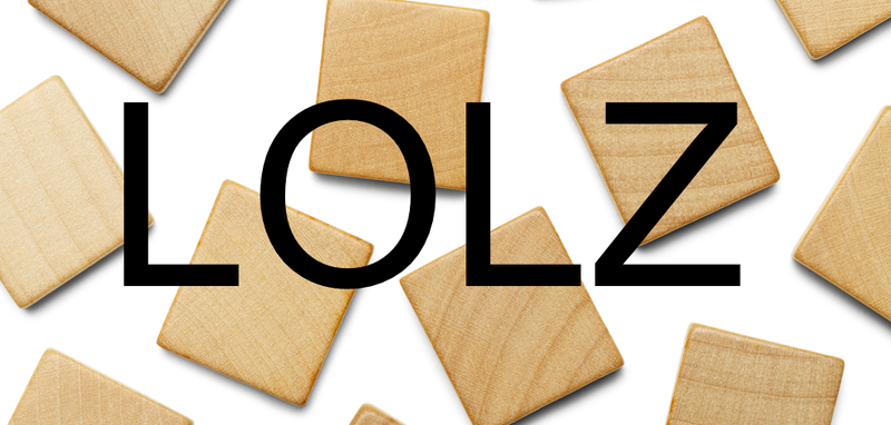 Illustration for article titled Lolz, Thanx, and Bezzy: Welcome to the Sad, Sad Future of Scrabble