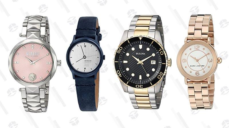Premium Watch Brand Gold Box | Amazon