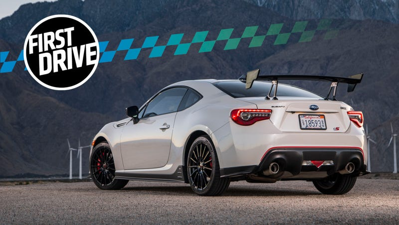 The 2018 Subaru Brz Ts Is A Better Brz And That S A Problem