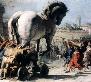 Illustration for article titled April 24, 1184 B.C.: First Trojan Horse Attack