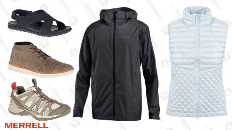 40% off select styles | Merrell | Use code MERRELLFIRST40