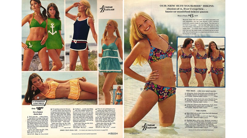 Illustration for article titled Let's Shop for Swimsuits in 1972