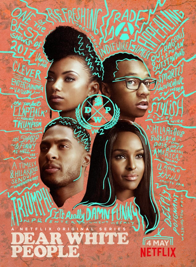 Illustration for article titled Dear White People Returns to Netflix for Another Season on May 4