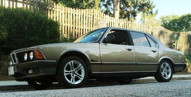 Illustration for article titled For $3,299, Does This 1985 BMW 745i Have Some Skin In The Game?