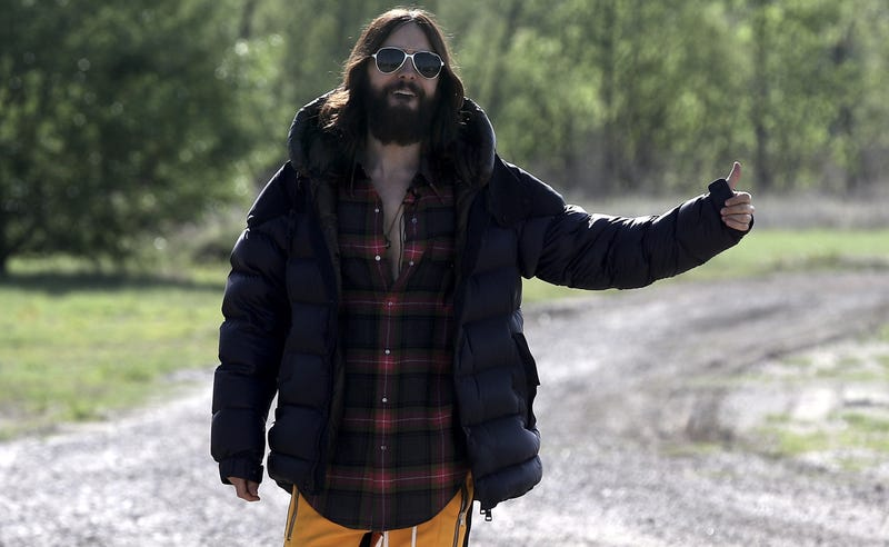 Illustration for article titled Jared Leto to Hitchhike Across America and Maybe Ride a Donkey While He's at It