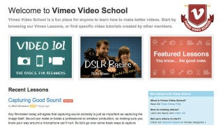 Illustration for article titled Vimeo Video School Offers Free Tutorials to Help Improve Your Video Skills