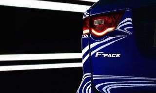 Illustration for article titled The Jaguar F-PACE Will Be A 'Performance Crossover'