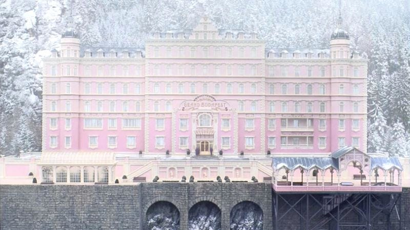 Illustration for article titled Grand Budapest Hotel special-effects demo reveals soulless computers behind Wes Anderson's quaint style