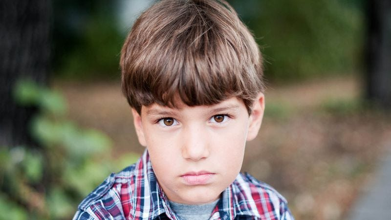 """Nicholas Brown, 9, says that constantly watching his gay parents fornicate has """"warped"""" his young, impressionable mind."""