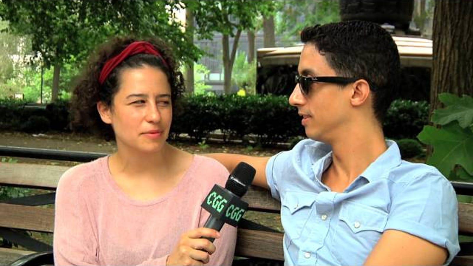 Broad Citys Ilana Glazer Asks Strangers How They Lost -8841