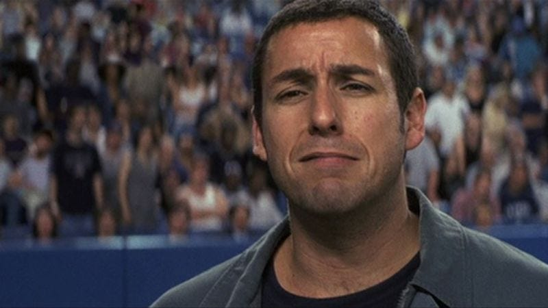 Illustration for article titled Serious Adam Sandler is getting very serious indeed
