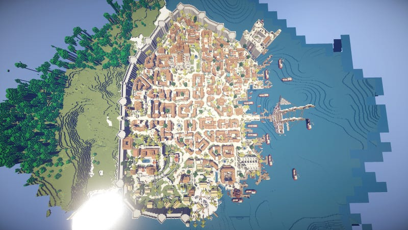 Havana From Assassin S Creed Iv Recreated In Minecraft Kotaku Uk