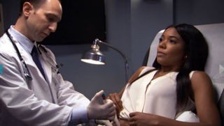 Gabrielle Union in scene from Being Mary JaneBET screenshot
