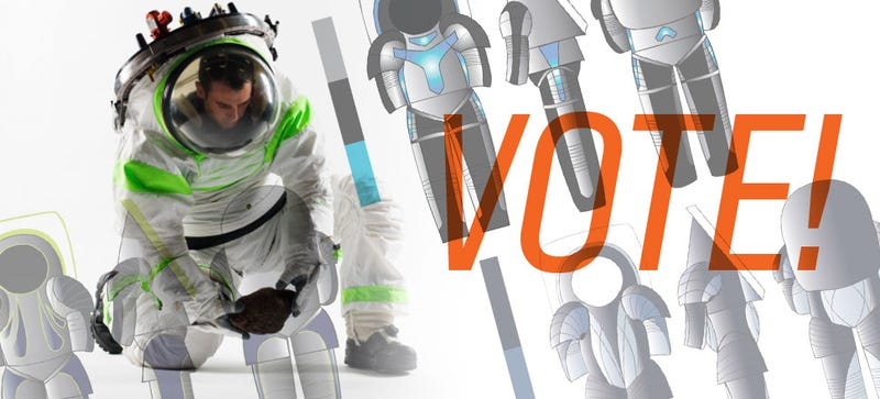 Illustration for article titled It's Up To You To Pick NASA's Next Spacesuit