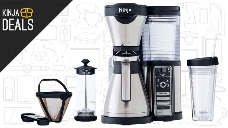 Illustration for article titled Ninja's Fancy New Coffee Maker Just Got Its First Discount