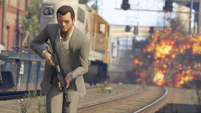 Illustration for article titled GTA V para PS4 y Xbox One llegará en Noviembre, para PC en 2015