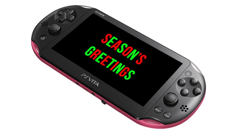 Illustration for article titled At Least Someone Wants a PlayStation Vita for Christmas