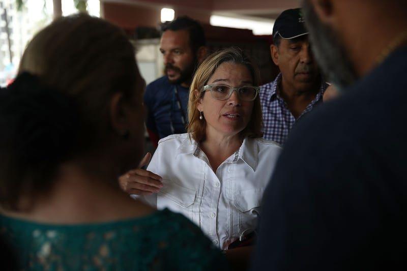 San Juan, Puerto Rico, Mayor Carmen Yulín Cruz (Joe Raedle/Getty Images)