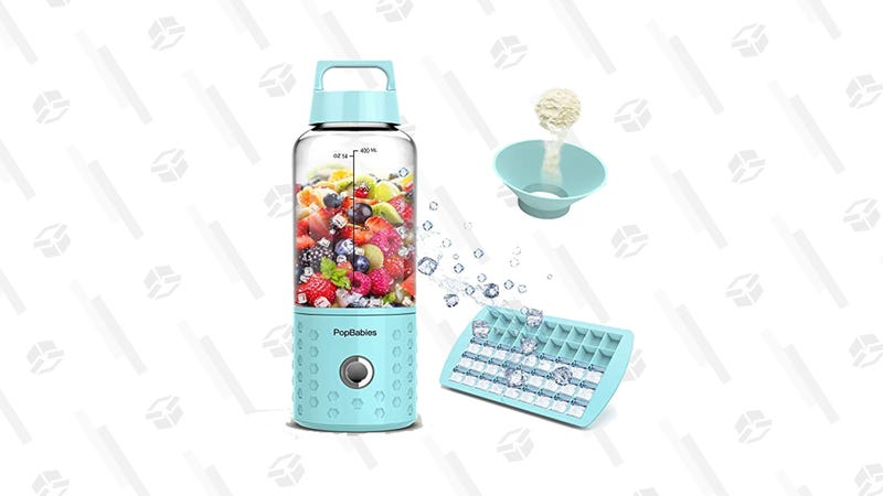 PopBabies Portable Blender (Blue color only) | $31 | Amazon