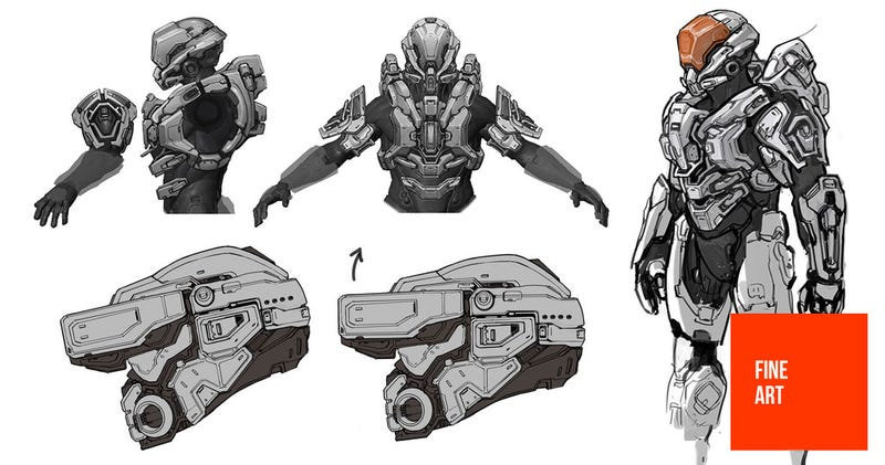 Illustration for article titled It's Like a Reference Book. Only, For Halo's Spartans.