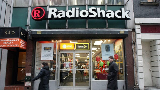 The Shambling Corpse of RadioShack Is Rising From the Grave