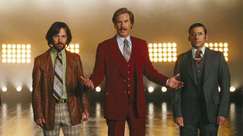 Adam McKay once again has enough leftover Anchorman 2 material to make a whole new movie